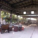 Stone working yard